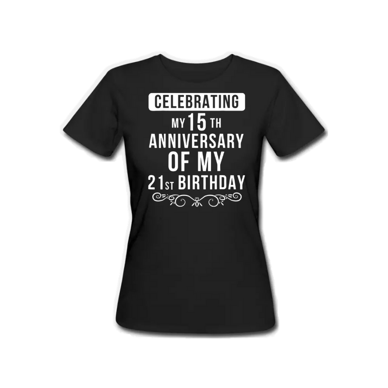 Celebrating 15th Anniversary 1983 - Female Tshirt