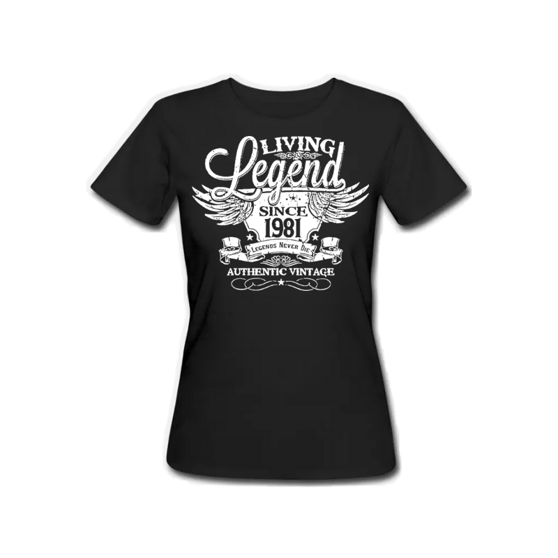 Legend 1981 - Female Tshirt