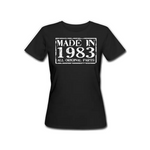 Made in 1983 - Female Tshirt