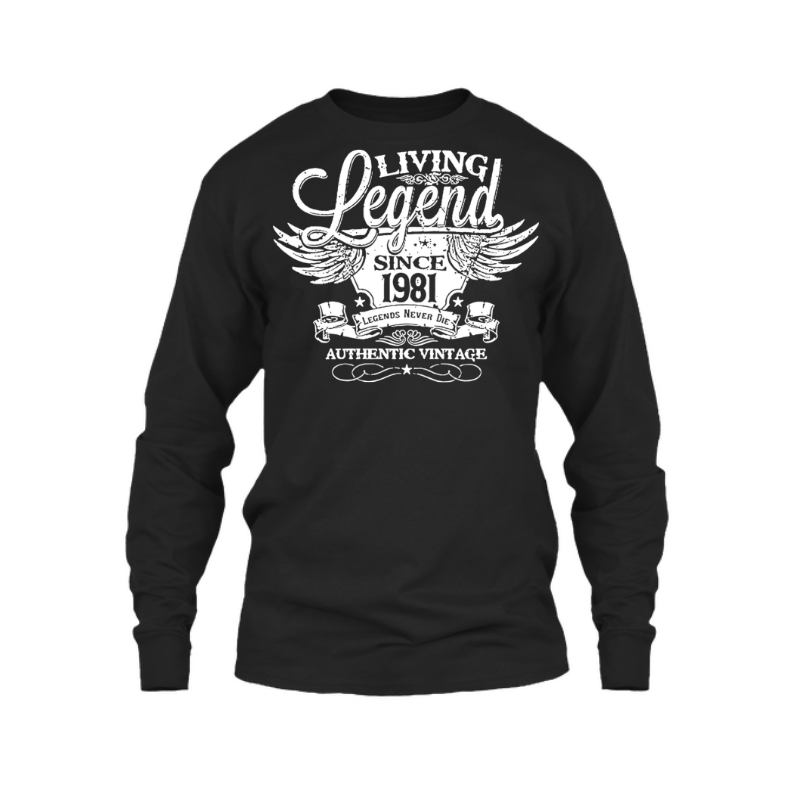 Legend 1981 - Male Tshirt