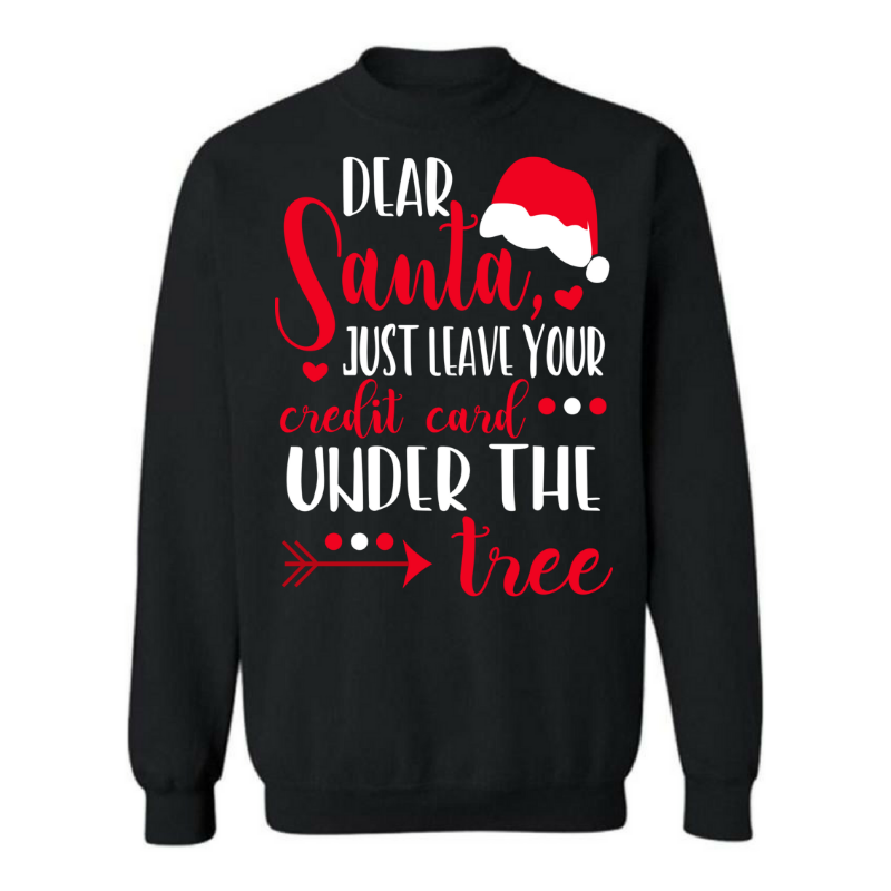 Credit Card Christmas Shirt
