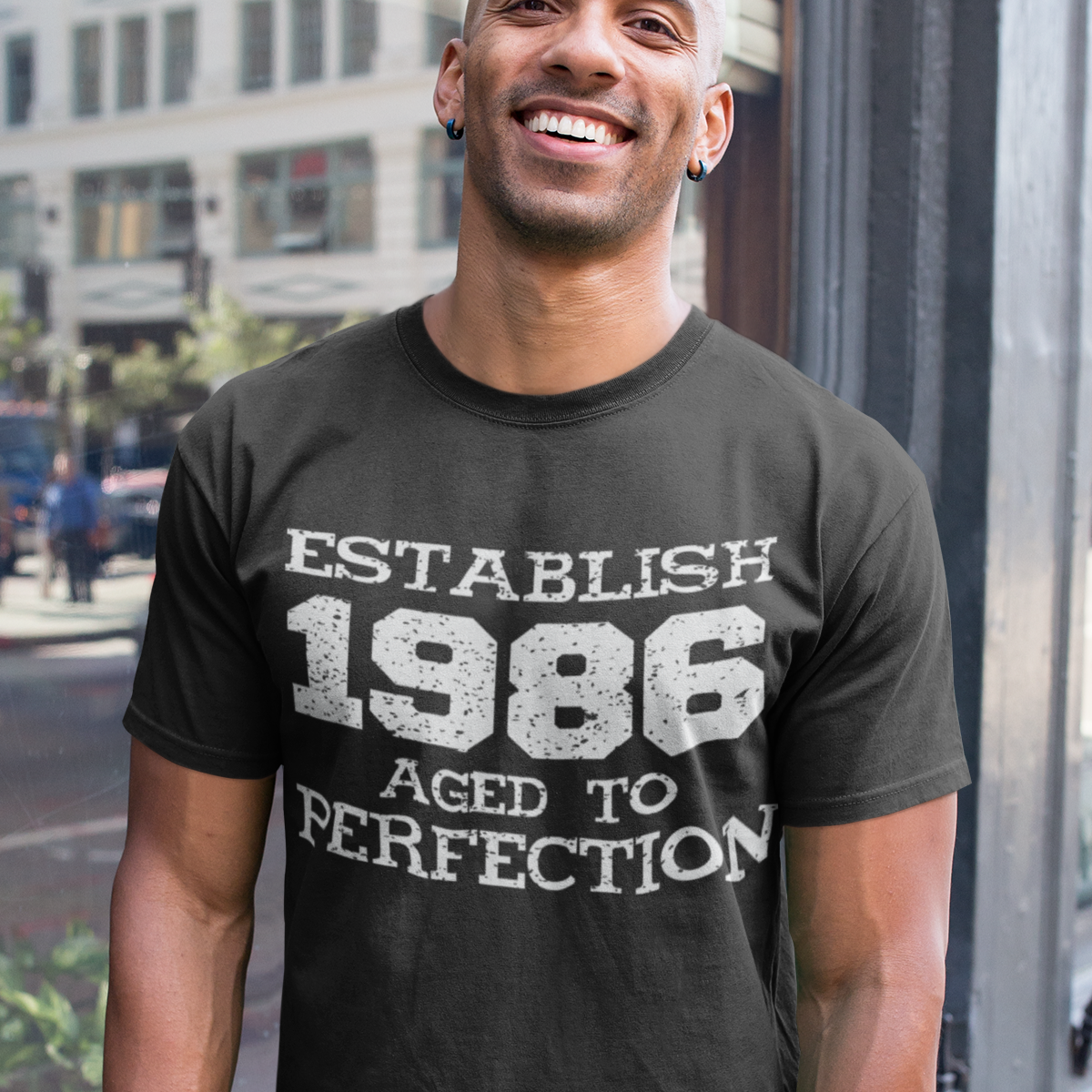 Established 1986 - Male Tshirt