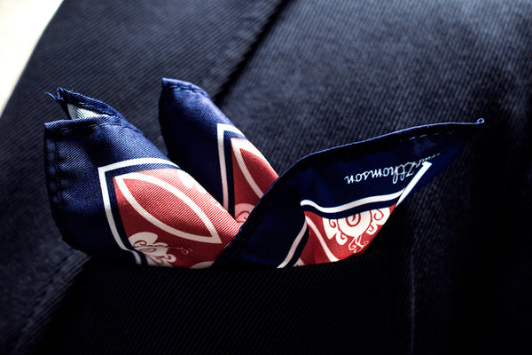 In Trend: MarZthomson's Peranakan-Inspired Pocket Squares