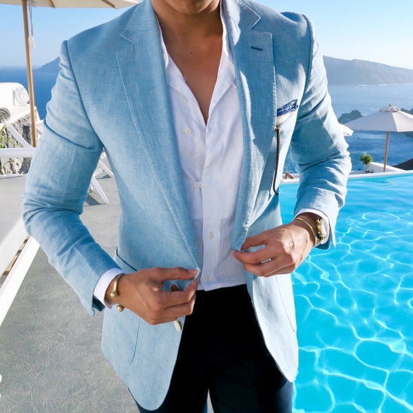 Let's Talk About: The Light Blue Summer Suit