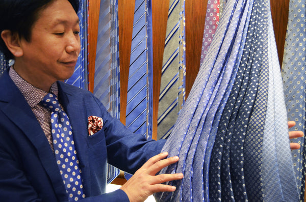 Three Minute Conversation: Choosing An In-Trend Tie