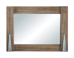 Distressed Wall Mirror