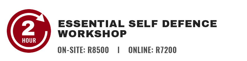 2 Hour Corporate Self Defence Workshop