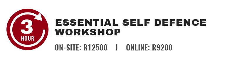 3 Hour Corporate Self defence Workshop