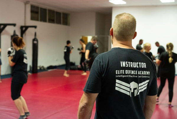 EDA Krav Maga instructor