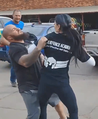Krav Maga street fight