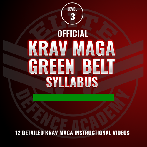 EDA Krav Maga Green Belt Syllabus 12 Videos