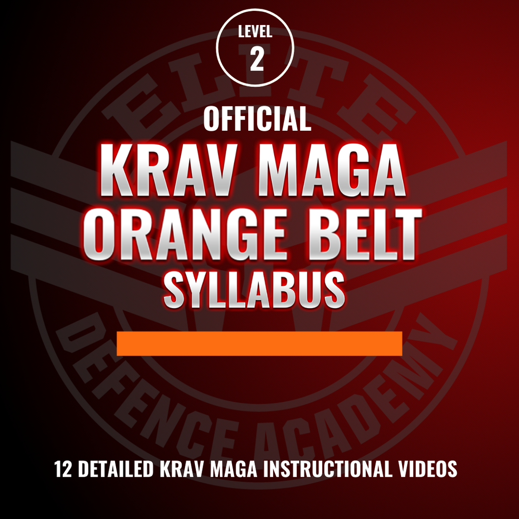 EDA Krav Maga Orange Belt Syllabus (12 Videos)