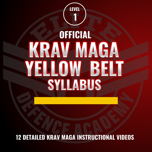EDA Krav Maga Yellow Belt Syllabus (12 Videos)