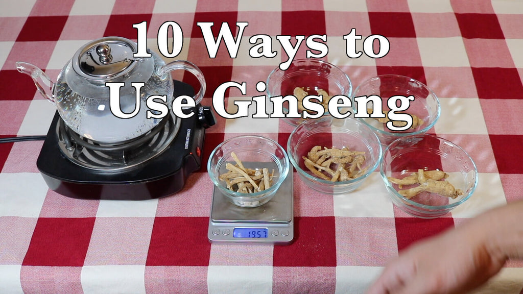 10 Ways to Use & Prepare Ginseng