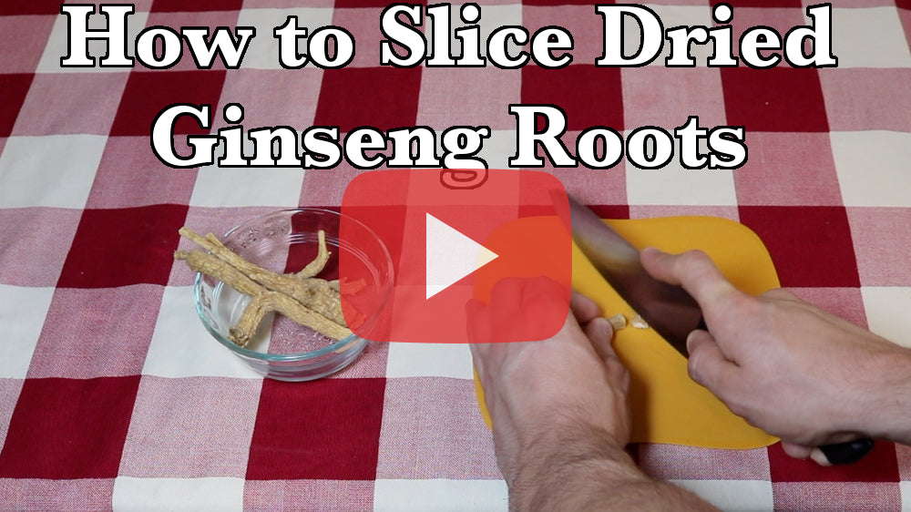 How To Slice Dried Ginseng Roots in 4 Easy Steps