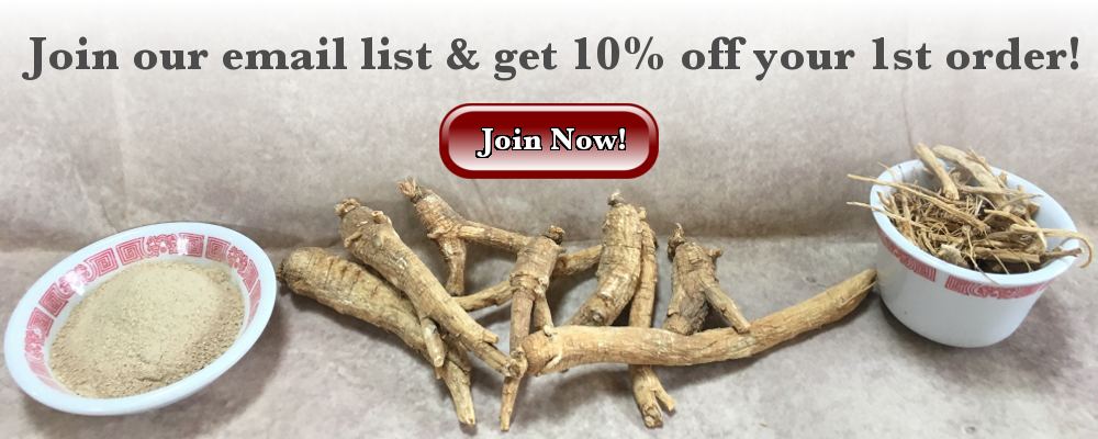 Join Our Email List & Get 10% Off Your 1st Order!