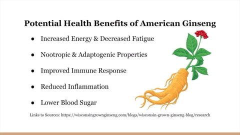 Health Benefits of American Ginseng