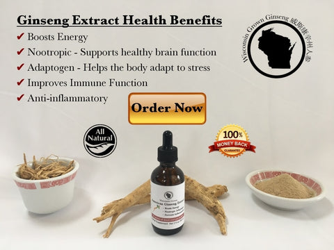 Wisconsin Ginseng Extract Benefits