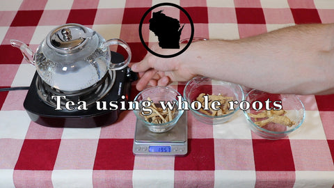 How to Brew Ginseng Tea using Whole Dried Ginseng Roots