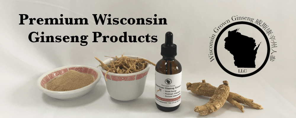 Premium Wisconsin Grown Ginseng Products