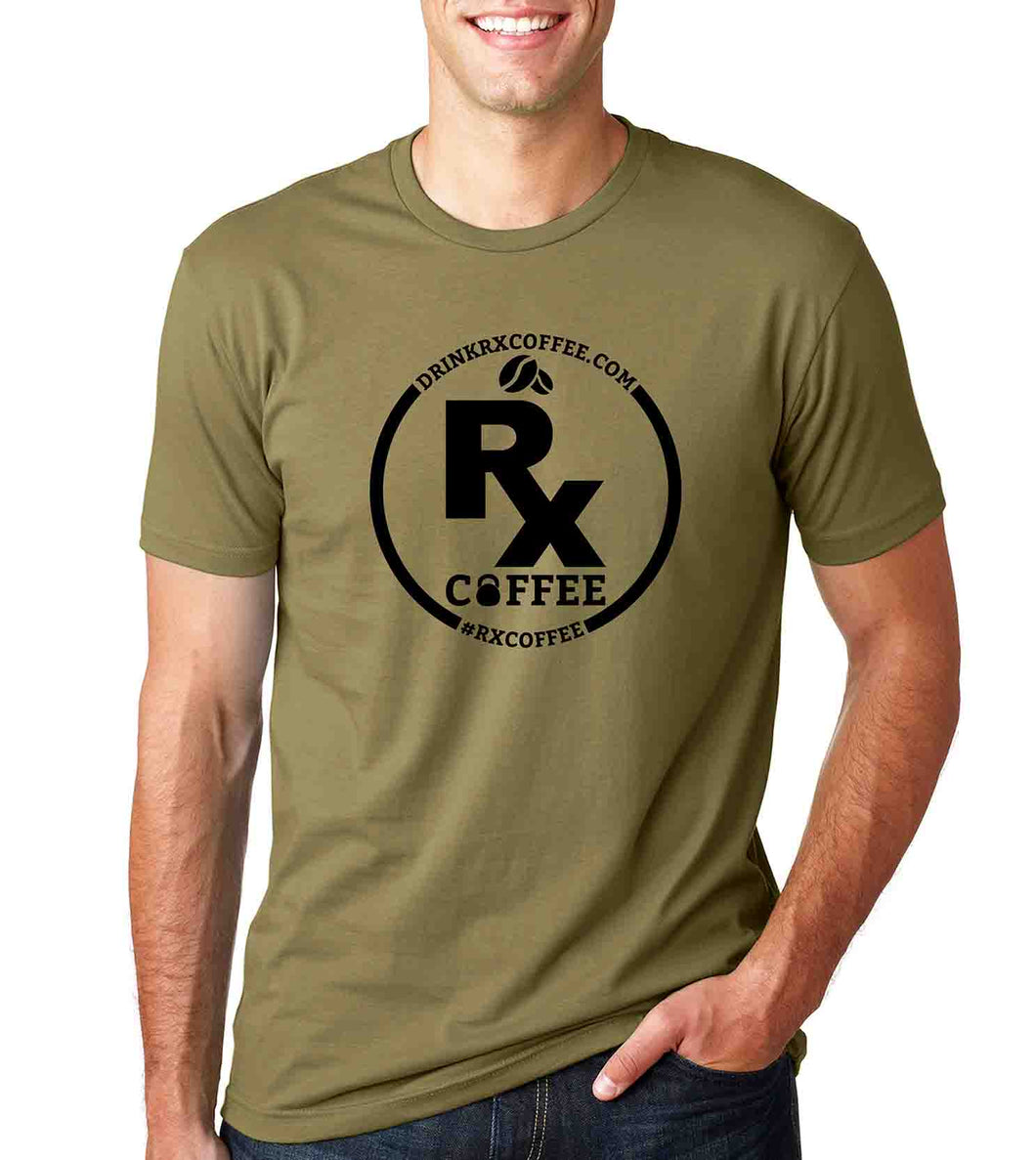 Men's Rx Coffee Green T (FREE SHIPPING U.S.A.)