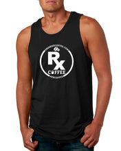 Men's Rx Coffee Black Tank (FREE SHIPPING U.S.A.)