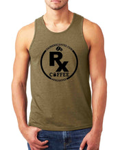 Men's Rx Coffee Green Tank (FREE SHIPPING U.S.A.)