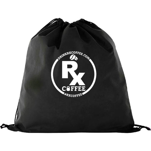 Rx Coffee Drawstring Gym Bag (FREE Shipping U.S.A)