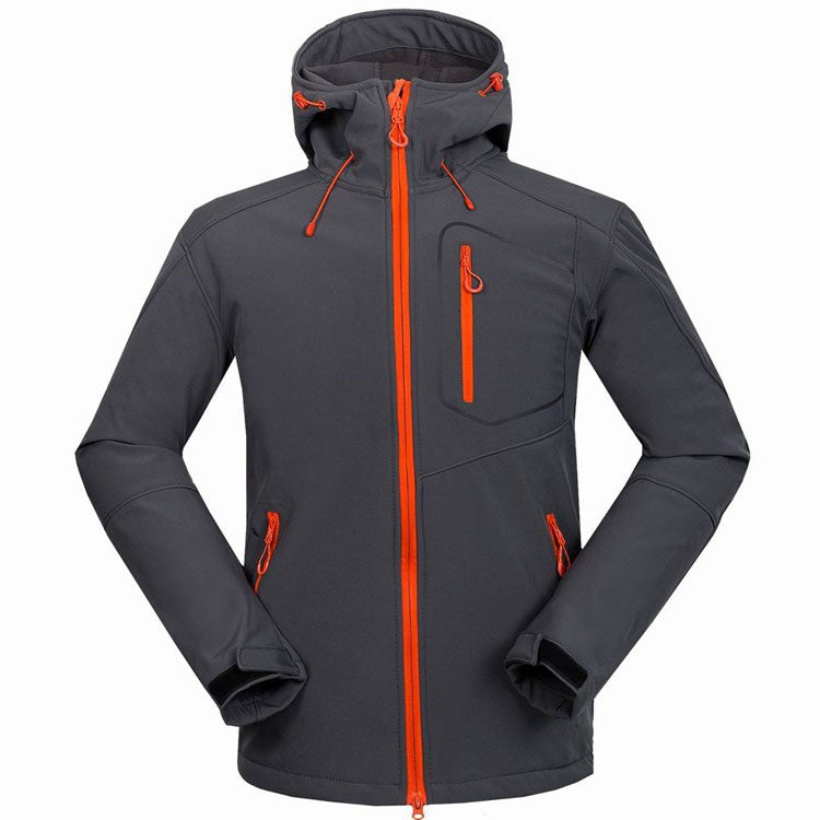 Gore-Tex Water-Resistant Soft shell Hiking Jacket