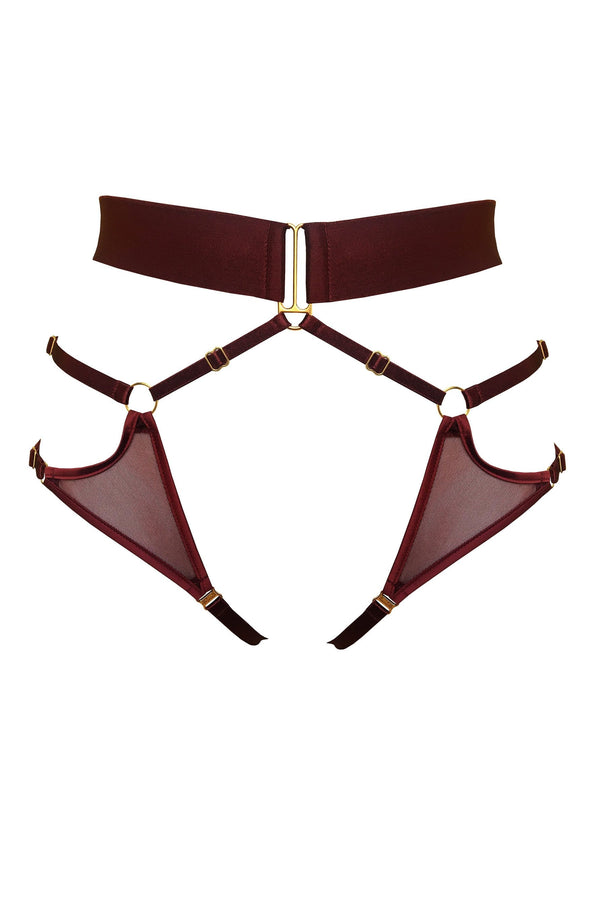 Merida Harness Brief in Morello
