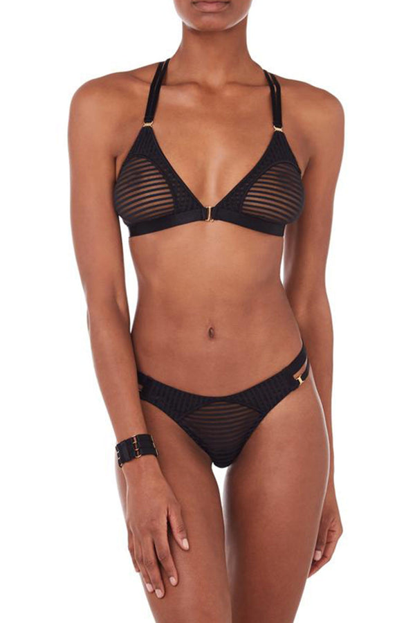 Bordelle Scala Black Sheer Bralette
