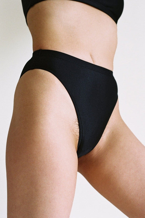 Island Swim Brief in Black