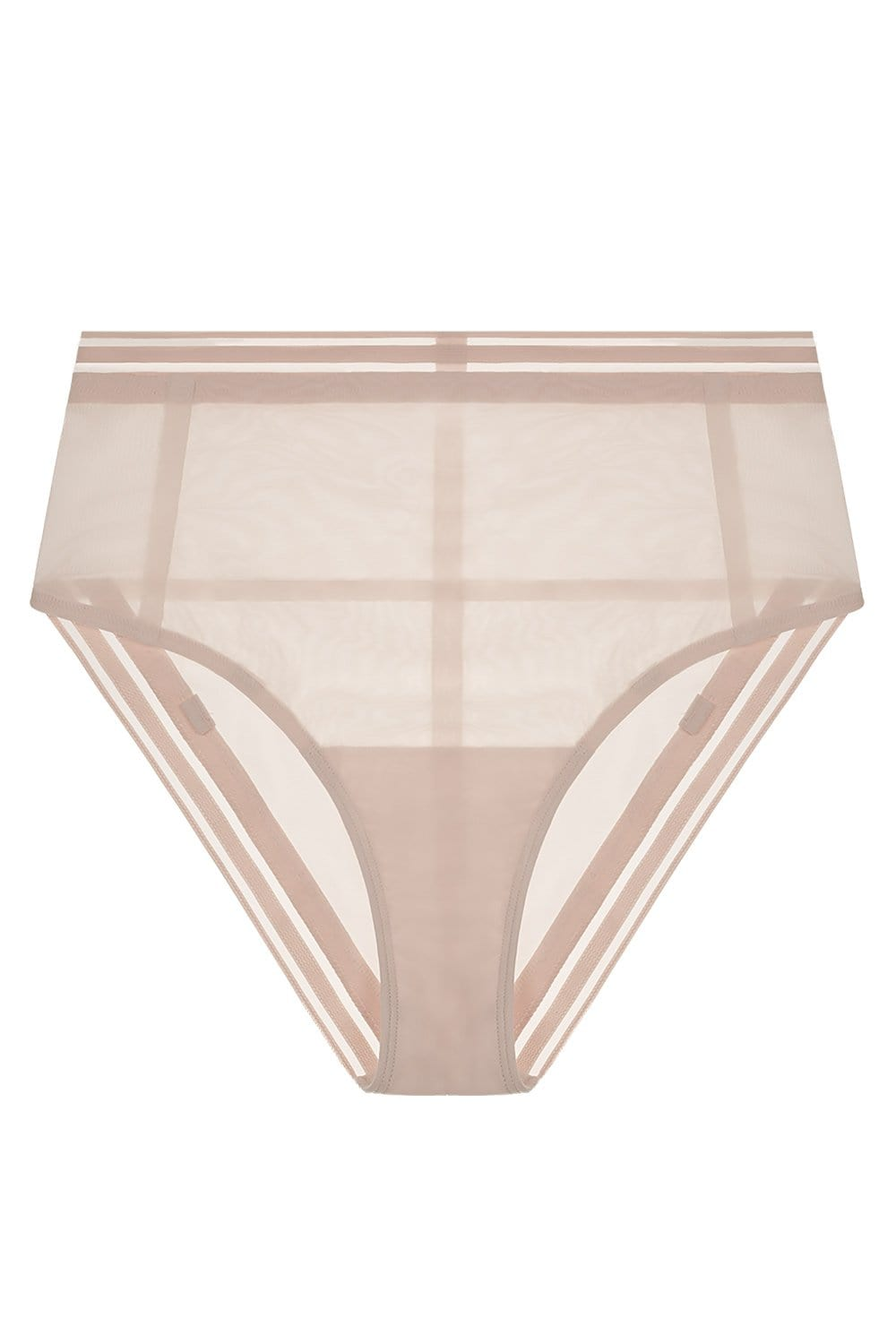 Paloma High Waist Brief in Bleached Sand