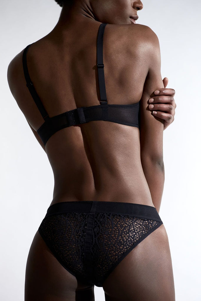 Sagan Graphic Lace Brief