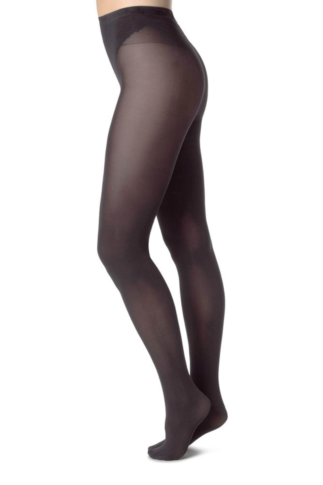 Black Sheer Elin Tights from Swedish Stockings