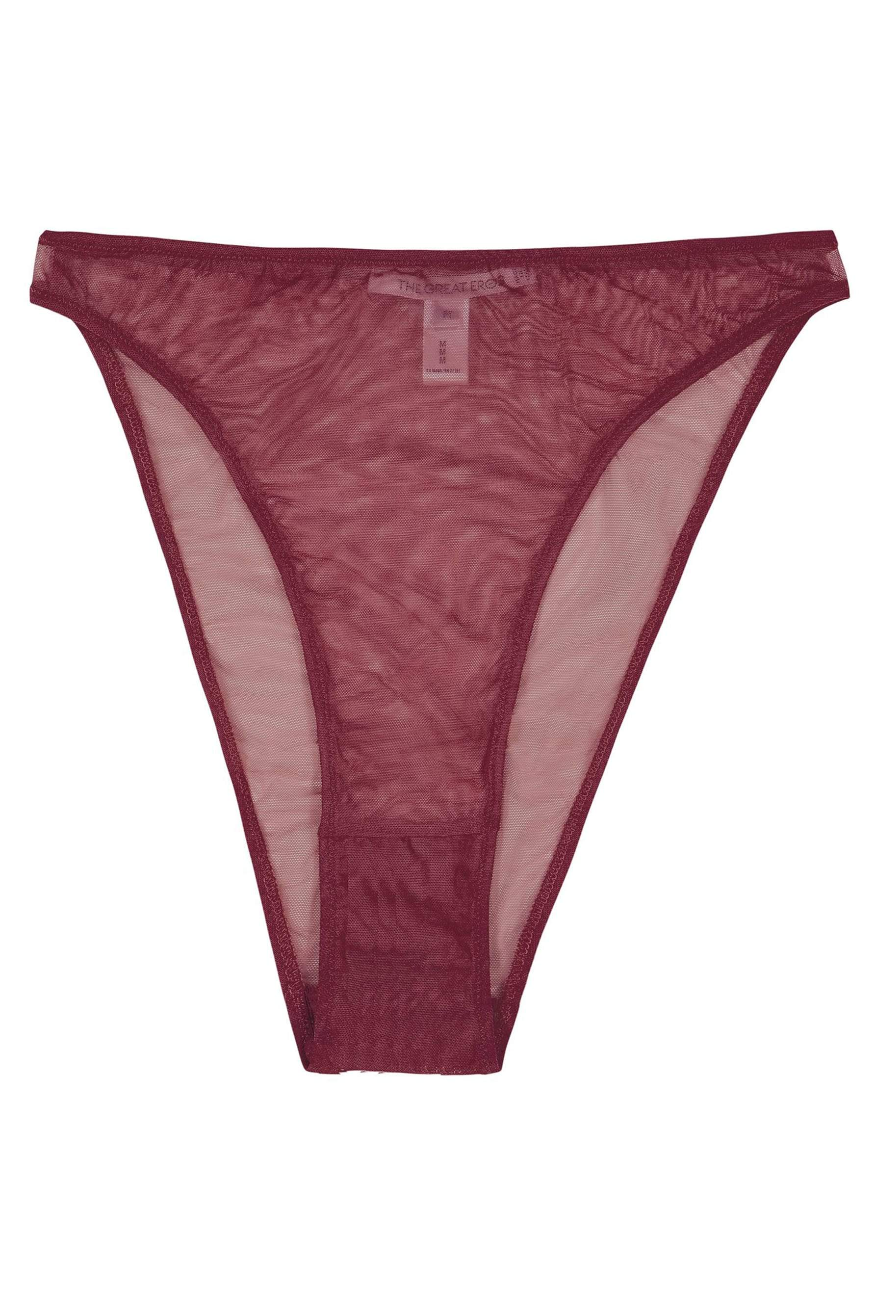 Currant Canova French Cut Brief