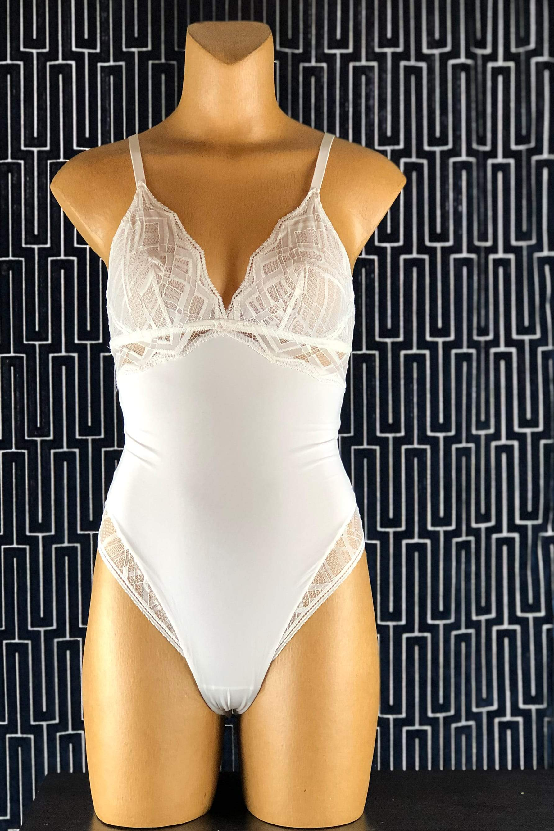 Sonata Bodysuit in Pearl