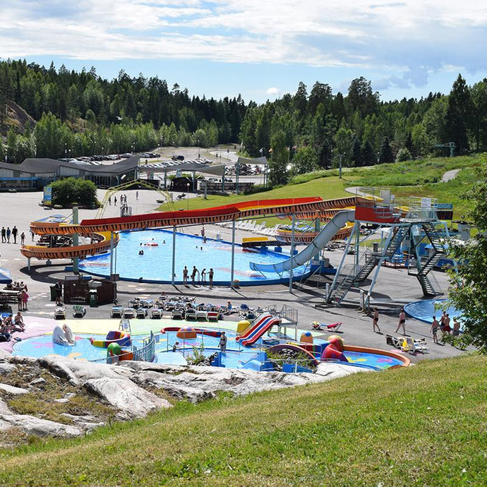 Water Park Serena - the largest year-round water park in the Nordic countries