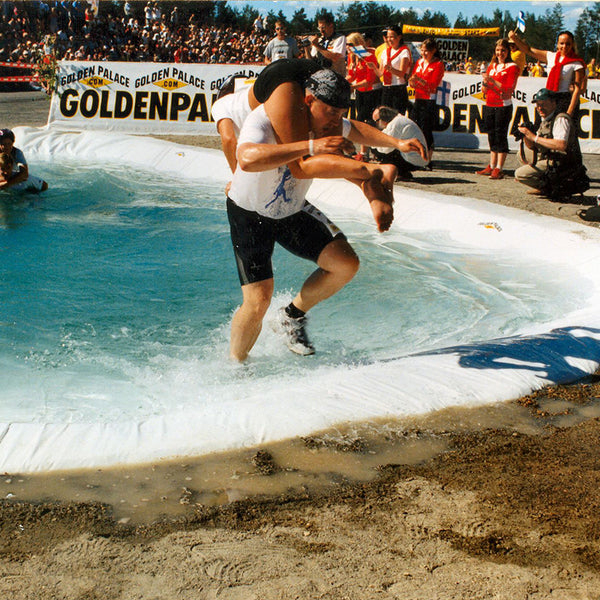 Wife-carrying competion