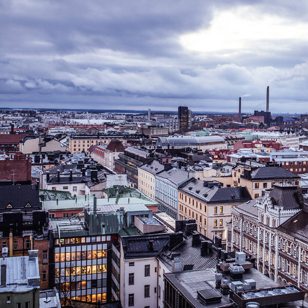 The spacious town plan gives Helsinki a horizontal skyline. Photo: ELISE KULMALA /HELSINKI MARKETING