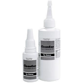 CleanEar cleans and dries the ear and normalizes ear pH