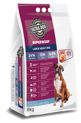 Ultra Dog Superwoof Adult Large Chicken