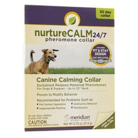NurtureCalm canine calming collar-Sustained release maternal pheromones for dogs and puppies