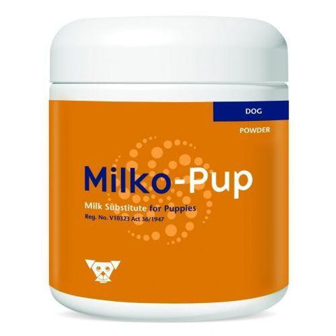 Milko-Pup contains vitamins and minerals, and the same proportions of fat and protein as bitch's milk, and may be used as a milk replacer when necessary.