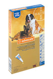 Advocate- Monthly Treatment in dogs 25-40kg. Treatment of fleas and their larvae, roundworm, hookworm, and ear mites as well as whipworm, biting lice, sarcoptes and demodex. It is also used in the prevention of heartworm.
