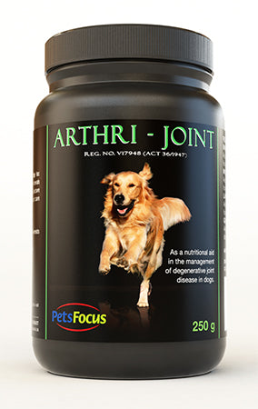 Arthri Joint powder-A nutritional aid in the management of severe to end stage degenerative joint disease in dogs.