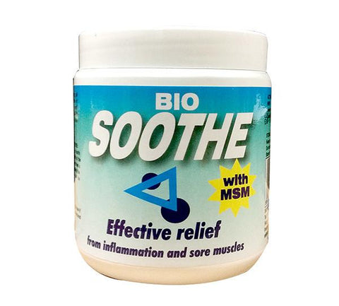 Bio Soothe - offers anti-inflammatory  and pain relief properties, offering deep penetrating pain  relief from sore joints and other minor muscle pains