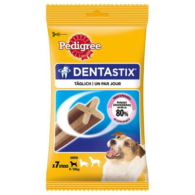 Pedigree Dentastix small- Aids in  the prevention of plaque build up on your dogs teeth.