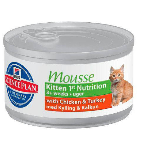 Hill's Science Plan Kitten Mousse Tin