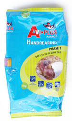 Avi Plus - Handrearing Phase 1- Day 1 to 10-14 Days old, Highly digestible, this diet has been carefully researched and tested to provide the very best for your baby birds in the appropriate balanced ratio.